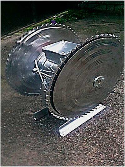 Дисковый аэрозольный увлажнитель 1